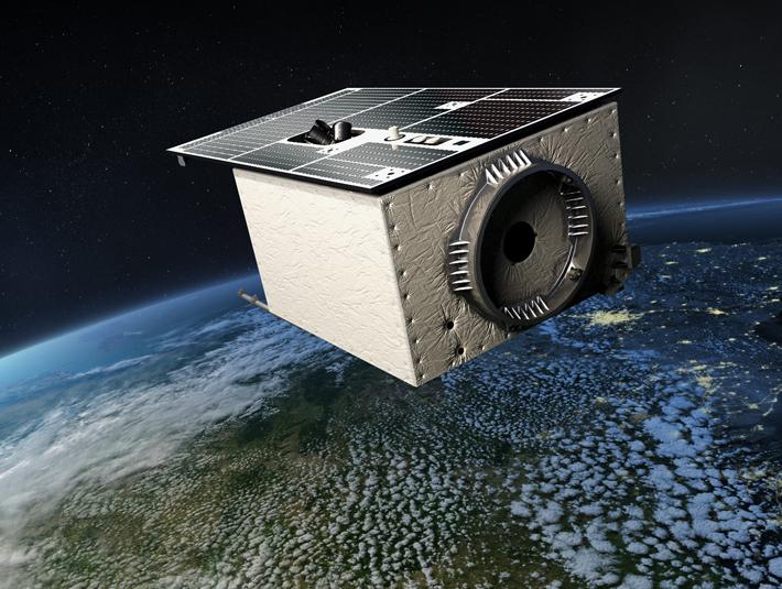 An optical test bed to help Earth mapping