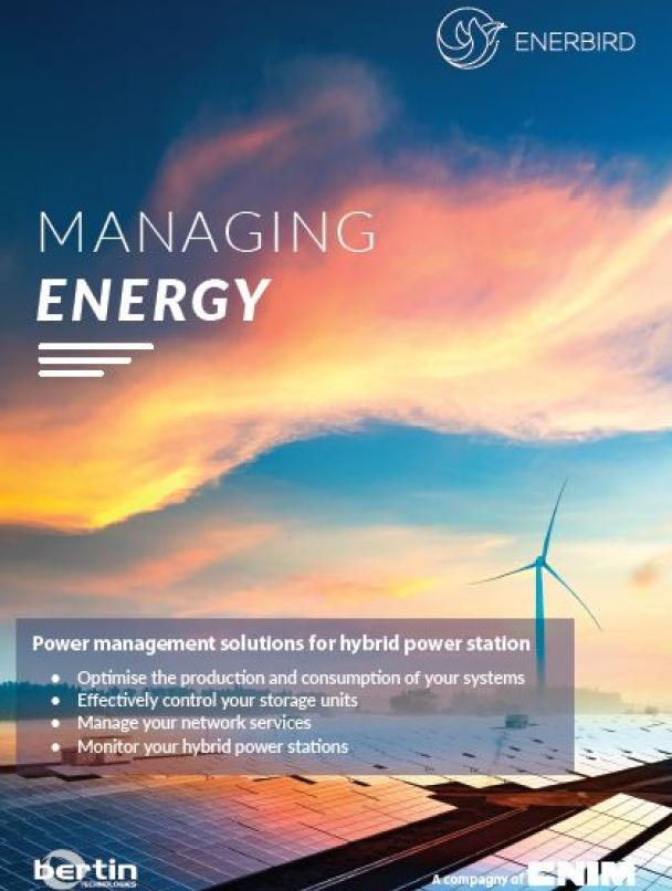 Enerbird: Power management solutions for hybrid power stations