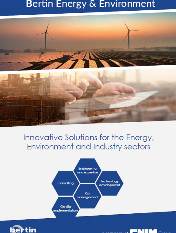 Innovative Solutions for the Energy, Environment and Industry sectors